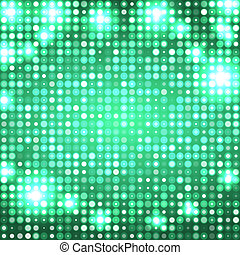 Emerald abstract background with circles - emerald abstract...