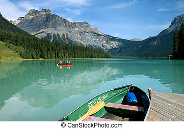Emerald lake - Boat rental in Emerald Lake, Canadian Rockies