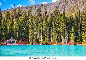 Emerald Lake in the Rockies