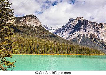 Emerald Lake in Yoho National Park, Canada