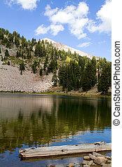 Emerald Lake Lassen NP - Reflections on Emerald Lake in ...