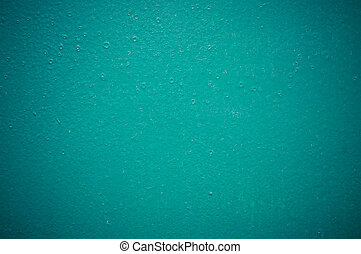 emerald structural painted wallpaper on the wall