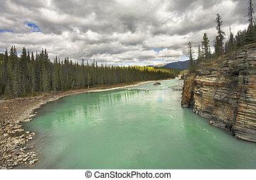 Emerald waters