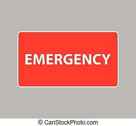 emergência, ícone