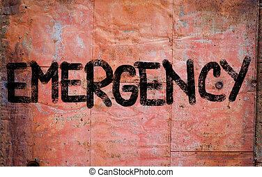 emergência, conceito