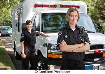 emergência, profissional médico