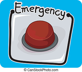 emergencia botón