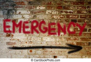 emergencia, concepto