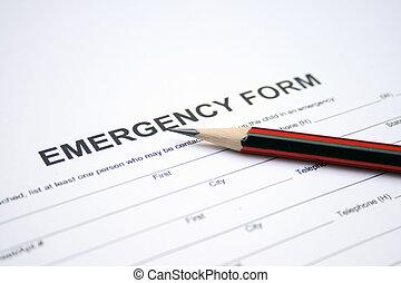 emergencia, forma