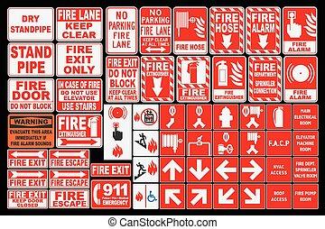 emergencia, fuego, canta