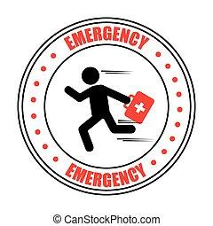 emergencia, icono