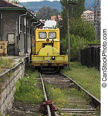 emergencia, locomotora