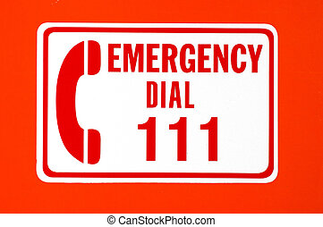 Emergency call 111 - Call emergency 111 rescue forces in New...