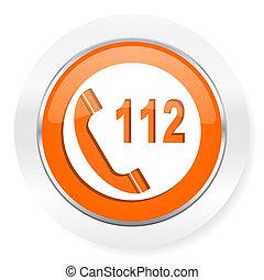 emergency call orange computer icon