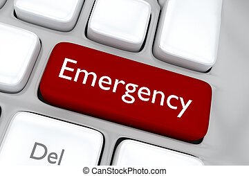 Emergency concept