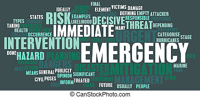 Emergency Concept - Emergency Planning and Disaster Response...