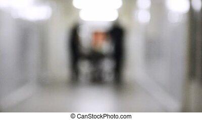 Emergency Department: Doctors, Nurses and Surgeons Move...