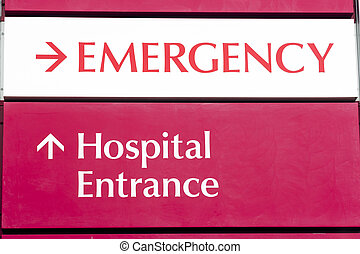 Emergency Entrance Local Hospital Urgent Health Care Building