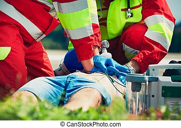 Emergency medical service - Cardiopulmonary resuscitation....