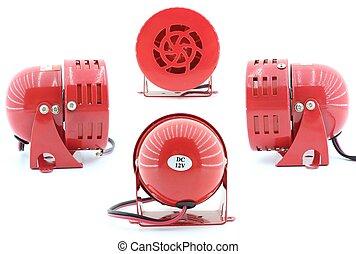 Emergency motor siren