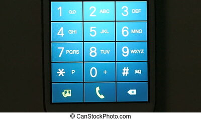 emergency phone call 911 - dialing 911 emergency phone call