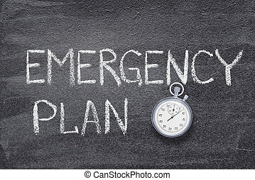 emergency plan watch