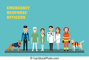 Emergency response officers