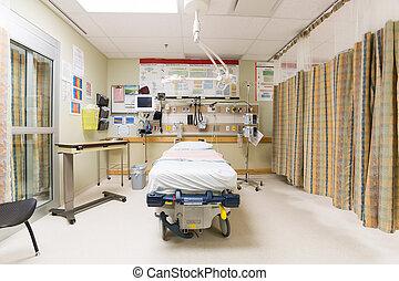 Emergency Room - Emergency intake room in hospital