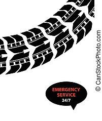 emergency service background