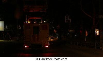 Emergency service truck