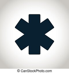Emergency star icon