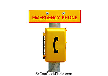 Emergency Telephone Station