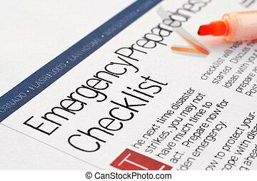 emergenza, lista