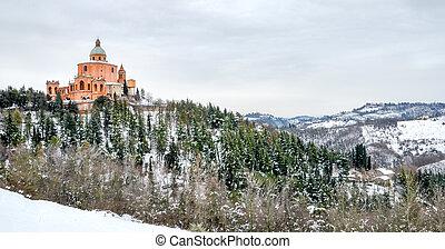 Emilia Romagna region Bologna san luca landscape - 19 Jan...