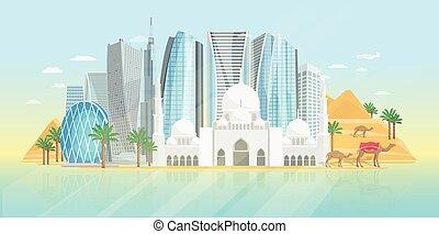 emirates árabes unidos, cartaz