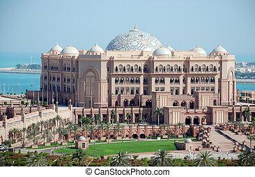 Emirates Palace - The luxury emirates palace hotel in Abu...