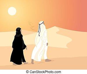 emiratos, ocaso