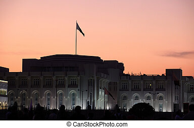 emiri, palacio, doha