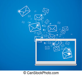 emitindo e-mail