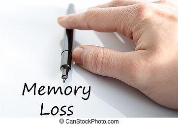 emlékezőtehetség kár, szöveg, fogalom