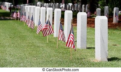 emlékmű, temető, nap