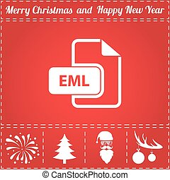 EML Icon Vector
