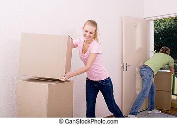 emménager ensemble