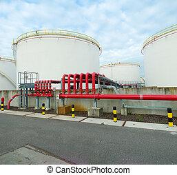 emmagasinage pétrole