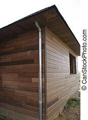 emmagasiner construction, bois, partie