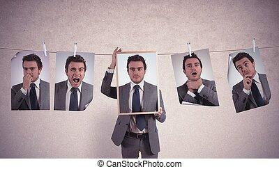 emociones, en, empresa / negocio