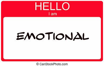 emocjonalny, powitanie