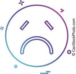emoji, ベクトル, デザイン, アイコン