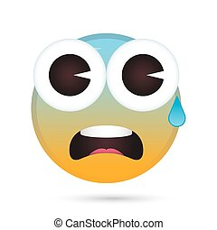 emoji face crying funny character