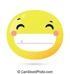 emoji face happy funny character